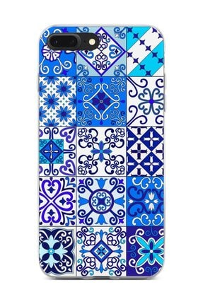 Melefoni Apple iPhone 7 Plus Kılıf Patchwork Serisi Julianna 1
