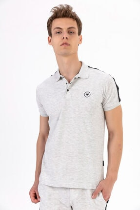 Fabregas B. Şeritli Polo Yaka T-shirt 2