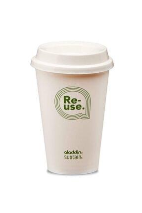 Aladdin Re-use Sustain Cup & Lid 0,35 lt 4lü Paket 2