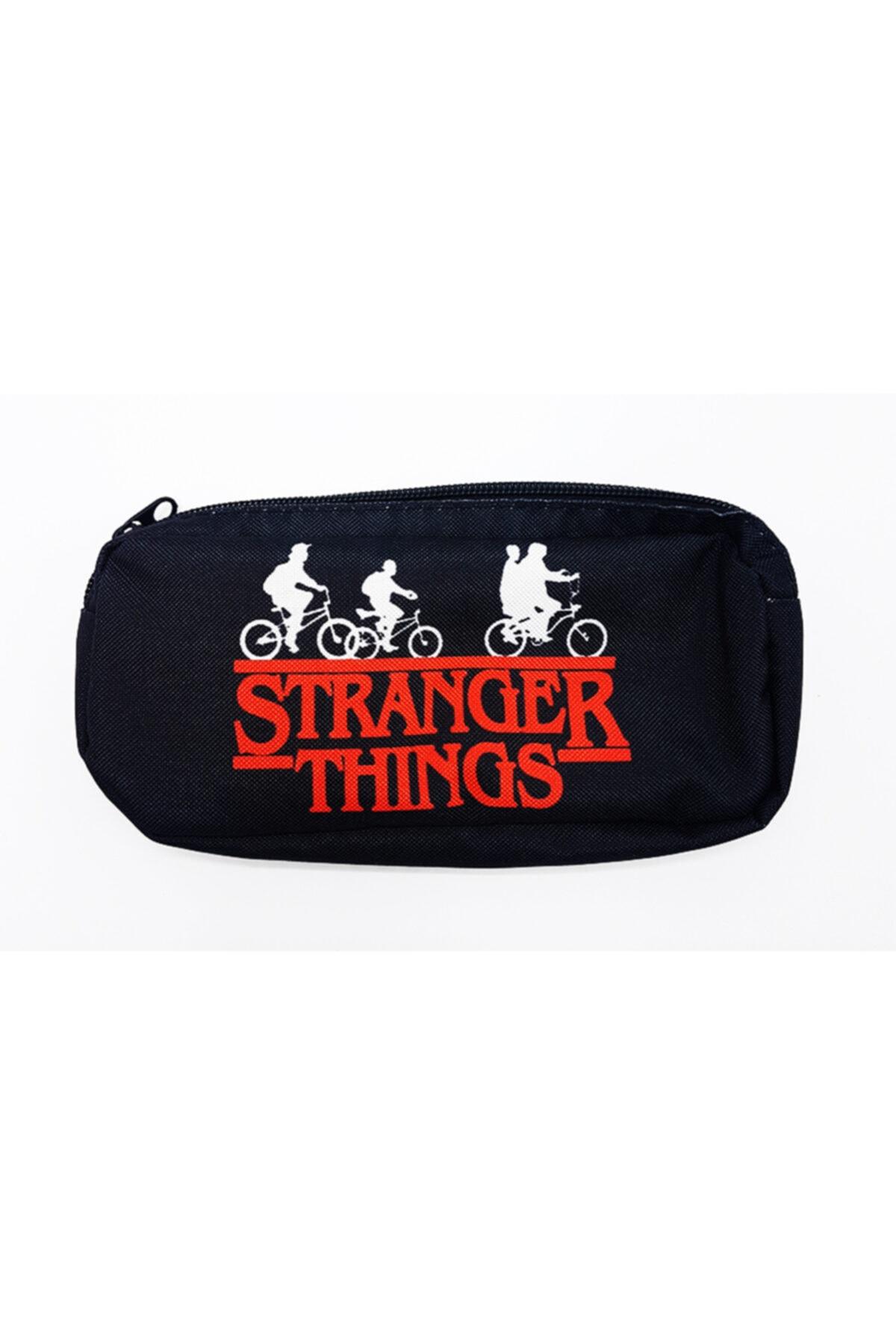 Stranger Things Bicycle Children Siyah Kalemlik