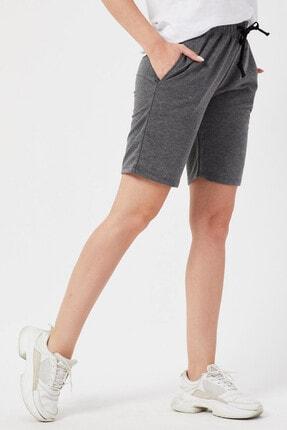 Twenty3 Kadın Basic Uzun Örme Şort Bermuda 3