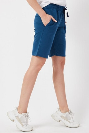 Twenty3 Kadın Basic Uzun Örme Şort Bermuda 2