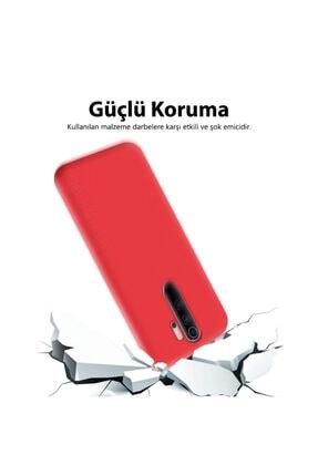 Mobilteam Xiaomi Redmi Note 8 Kılıf Içi Kadife Lansman Kapak - Lavanta Gri 1