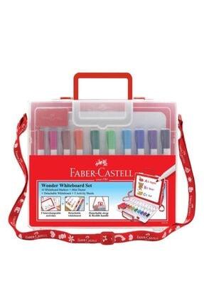 Faber Castell Çantalı Tahta Kalemi 10 Renk 0