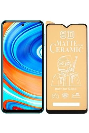 Lims Xiaomi Redmi Note 9 Pro - 9d Tam Kaplama Mat Seramik Ekran Koruyucu 0