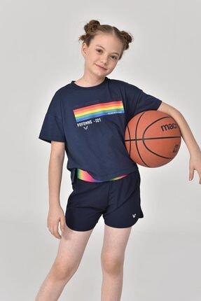 bilcee Lacivert Kız Çocuk T-Shirt GS-8150 0