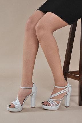 تصویر از Kadın  Gümüş-Slt Klasik Topuklu Ayakkabı VZN20-035Y