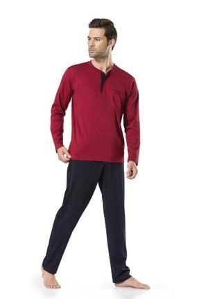 Pierre Cardin Erkek Bordo Damat Çeyizlik Pijama Takımı 0