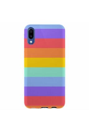 Kılıfland Samsung Galaxy A01 Silikon Resimli Kapak Rainbow Stok 1276 0