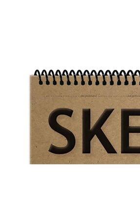 Etika Sketchbook Kraft B5 Spiralli 140 Gr. 40 Yaprak 17x24 Cm Eskiz Defteri 1