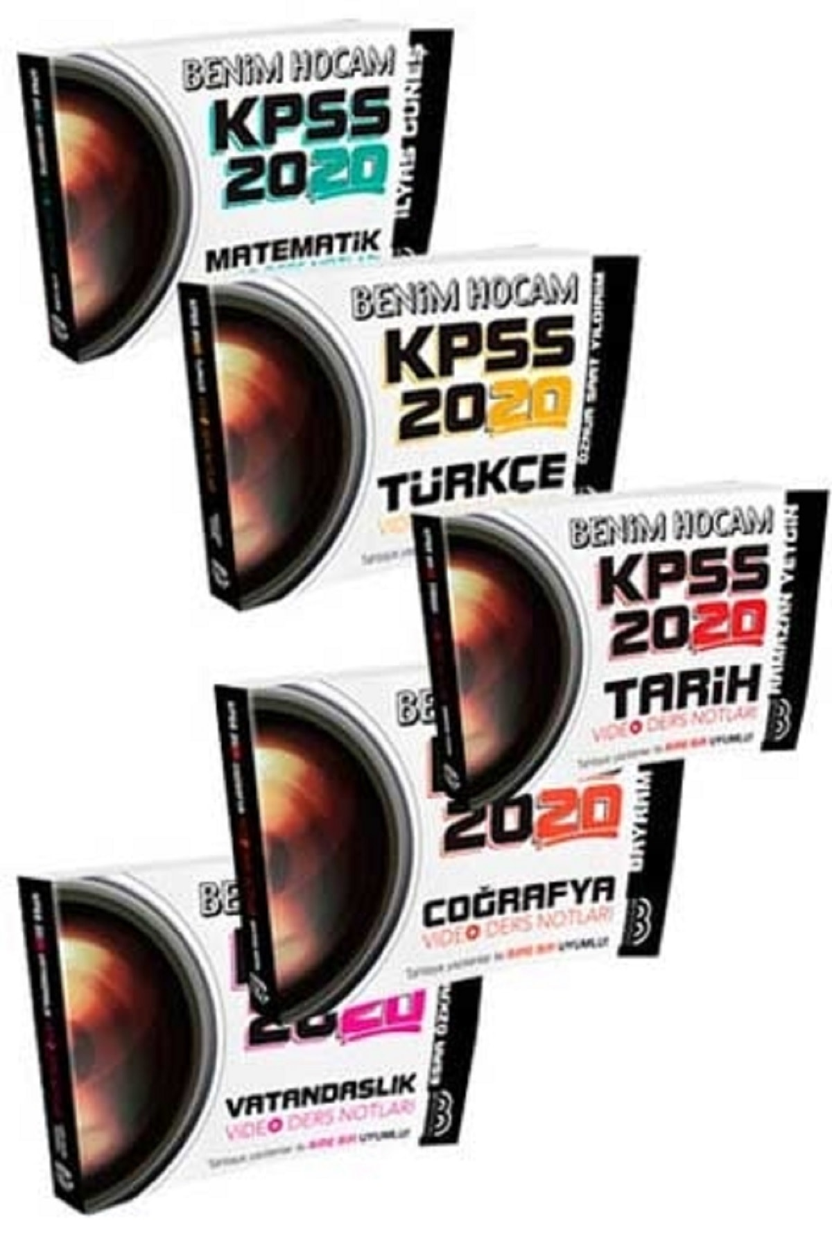 2020 KPSS Genel Yetenek Genel Kültür Video Ders Notları Seti