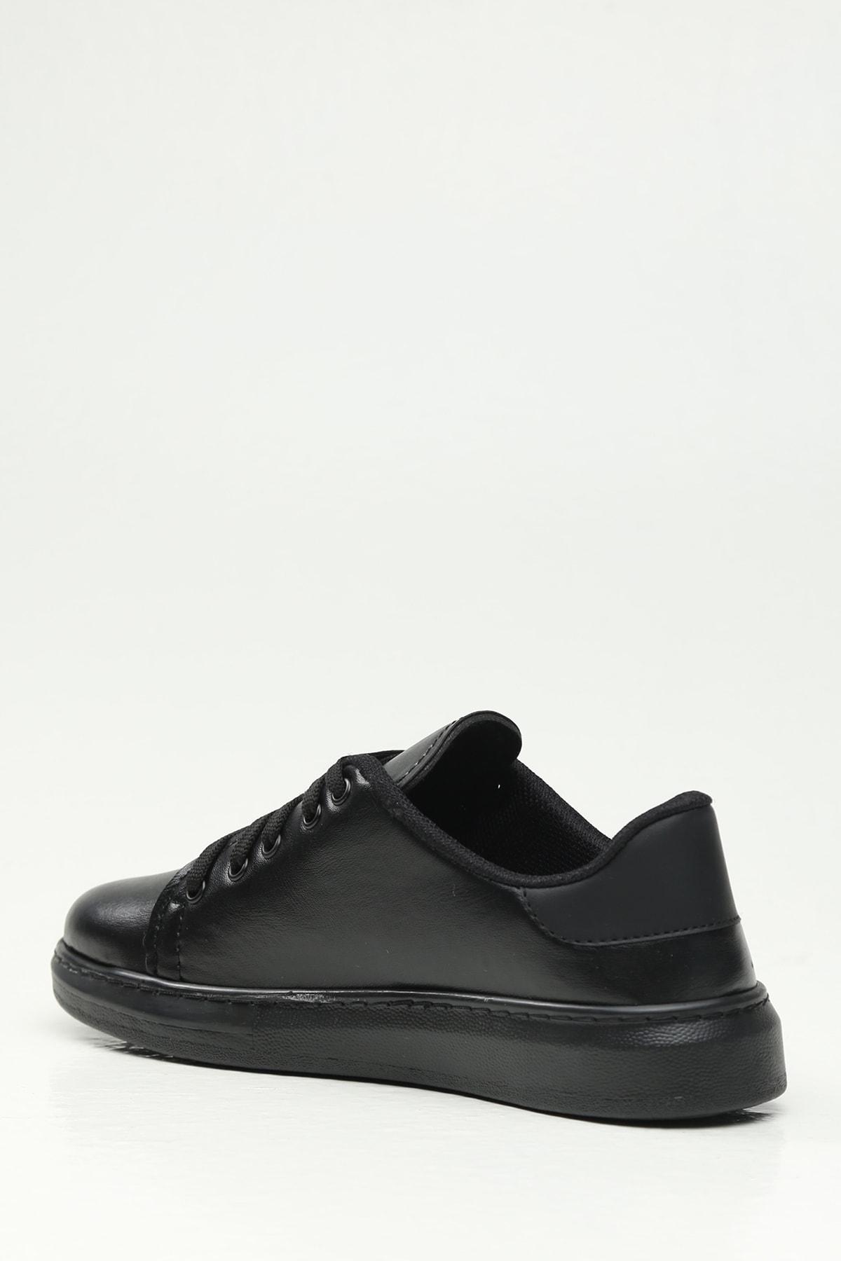 Ayakkabı Modası Siyah-Siyah Kadın Casual Ayakkabı BM-4000-19-110001 2