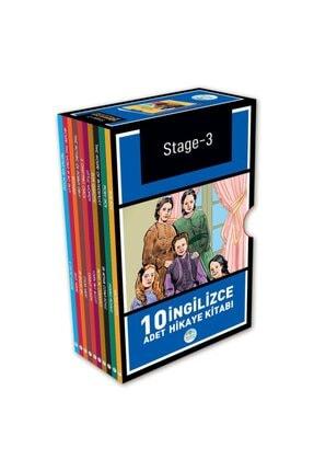 Mavi Çatı Yayınları Stage-3 Ingilizce Hikaye Seti 10 Kitap 0