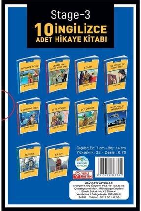 Mavi Çatı Yayınları Stage-3 Ingilizce Hikaye Seti 10 Kitap 3