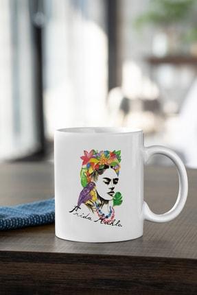 2K Dizayn Frida Kahlo Tasarım Kupa Bardak 0