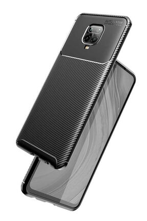 Telefon Aksesuarları Redmi Note 9s Silikon Kılıf Siyah 0