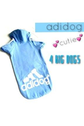 Kemique Mavi Adidog Cutie Kapşonlu Sweatshirt Orta Ve Büyük Irklar Için ( 8xl / 30 - 35 Kg ) 1