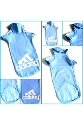 Kemique Mavi Adidog Cutie Kapşonlu Sweatshirt Orta Ve Büyük Irklar Için ( 8xl / 30 - 35 Kg ) 2