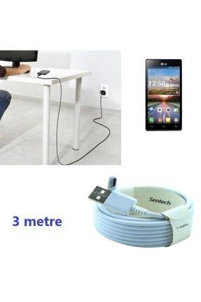Sentech Casper Vıa S Uyumlu 3 Metre Micro Usb Şarj Ve Data Kablosu 1