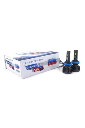 Photon Ultimate H11 Led Headlıght 9500 Lumens 3 Plus 0