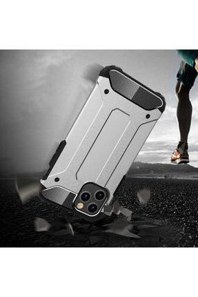 BizimGross Apple Iphone 12 Pro (6.1 Inç) Zırh Tank Tam Koruma Kılıf 2
