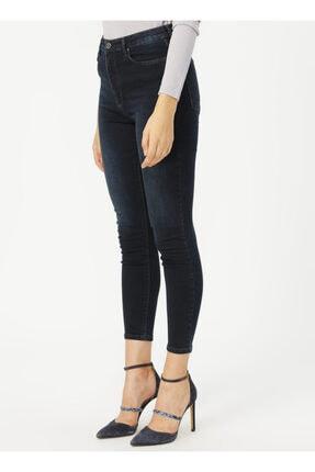 Loft Lf2025593 Kadın Natalıe Sara Blue Black Wash W Denim Pantolon 20k 2