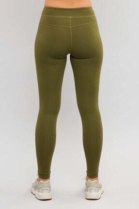 bilcee Yeşil Likralı Pamuklu Kadın Tayt ES-3625 1