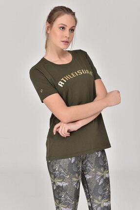 bilcee Haki Kadın T-Shirt GS-8618 2
