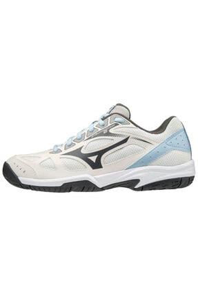 Mizuno Unısex Beyaz Mavi Voleybol Ayakkabısı 0