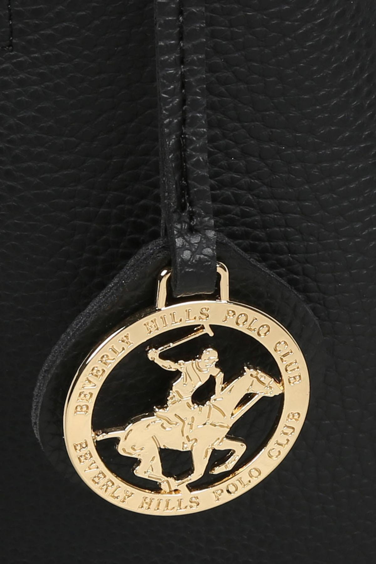 Beverly Hills Polo Club Kadın El ve Omuz Çantası Siyah 4