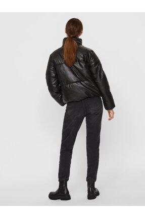 Vero Moda Kadın Siyah Kısa Bel Şişme Mont 10231837 1