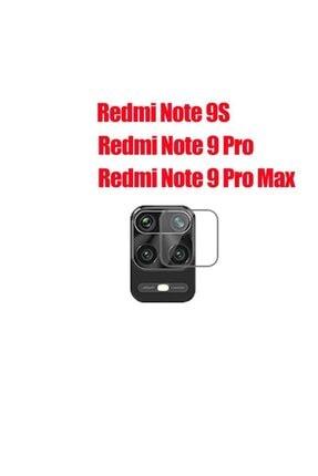 BCA Xiaomi Redmi Note 9 Pro Kamera Koruma Camı 2