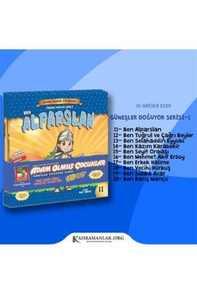 Güneşyolu Yayınları Adam Olmuş Çocuklar Güneşler Doğuyor Serisi 1 - Çocuk Kitap Seti (10 Kitap) 3