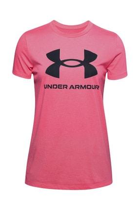 Under Armour Kadın Spor T-Shirt - Live Sportstyle Graphic Ssc - 1356305-668 0