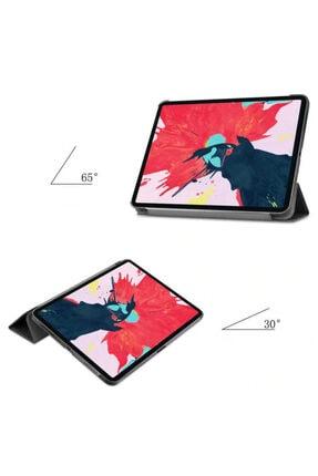 MOBAX Apple Ipad Air 2 Kılıf Pu Deri Smart Case A1566 A1567 Kırmızı 2