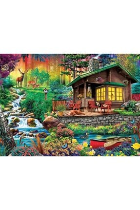 Trefl Puzzle Cabin In The Woods 3000 Parça 0