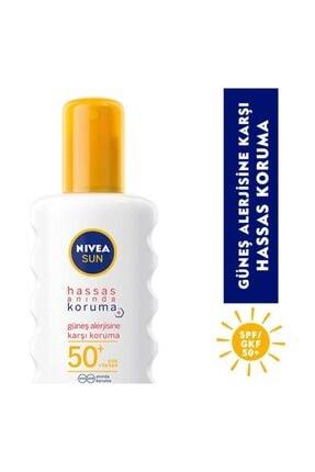 Nivea Sun Hassas Güneş Alerjisine Karşı Koruyucu Sprey 50+ 200ml 0