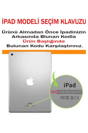 MOBAX Turuncu Apple Ipad Air 2 Kılıf Dönebilen Standlı Case A1566 A1567 3