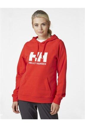 Helly Hansen Kadın Kırmızı Spor Sweatshirt 1
