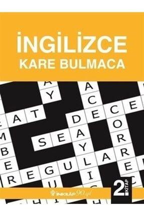 İnkılap Kitabevi Ingilizce Kare Bulmaca 2. Kitap 0