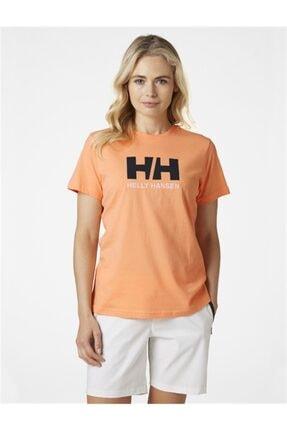 Helly Hansen Kadın Turuncu T-Shirt 1