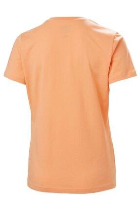 Helly Hansen Kadın Turuncu T-Shirt 3