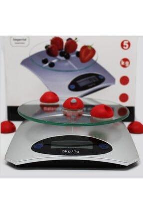 Techmaster 5 Kg Dijital Cam Platform Mutfak Terazisi Tartısı 1 Gr Hassasiyet 3