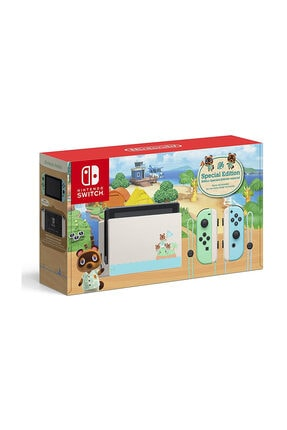 Nintendo Switch Animal Crossing New Horizons Edition Konsol 0