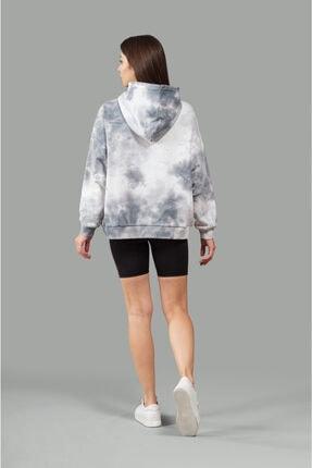 nosewear Kapüşonlu Batik Sweatshirt 1