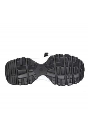 FOTİN Guja Kadın Siyah Bağcıklı Sneaker Ayakkabı 4