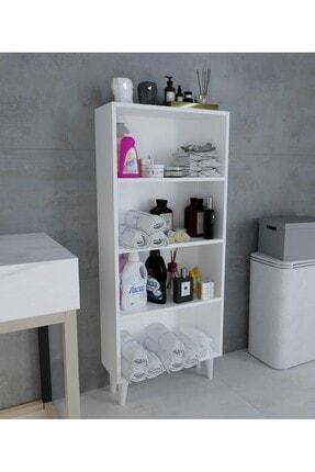 intarz Artim Çok Amaçlı Mutfak Banyo Kitaplık Dolabı Yükseklik 137 Genişlik 59 Derinlik 22 4