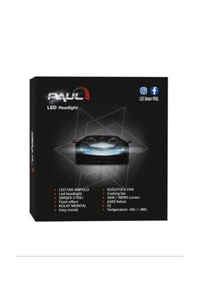 PAULLED H1 Mini Pro Canbus Led Xenon Far Canbus Şimşek Etkili 1 Yıl Garantili 4