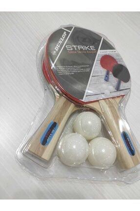 Dunlop Strıke Masa Tenis Raketi Seti (2 Raket + Top ) 2