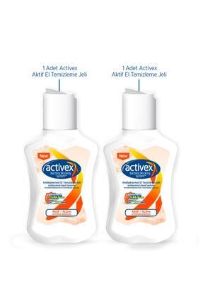 Activex Antibakteriyel El Temizleme Jeli Aktif 2x100ml 1